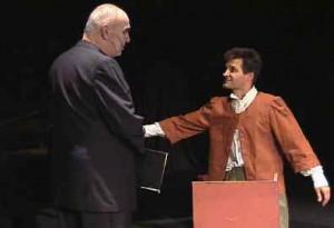 """""""Der Ackermann aus Böhmen"""", Theateraufführung in Saaz, Oktober 2006"""