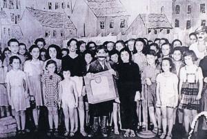 Brundibár-Aufführung in Theresienstadt