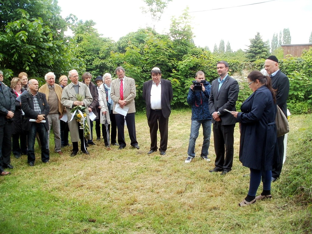 Gedenkveranstalltung am jüdischen Friedhof