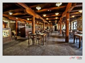 Restaurant des Saazer Hopfe- und Biertempels