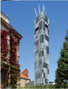 """Turm des """"Biertempel"""" in Saaz"""