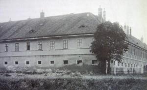 Kasárny Postoloprty, historický snímek