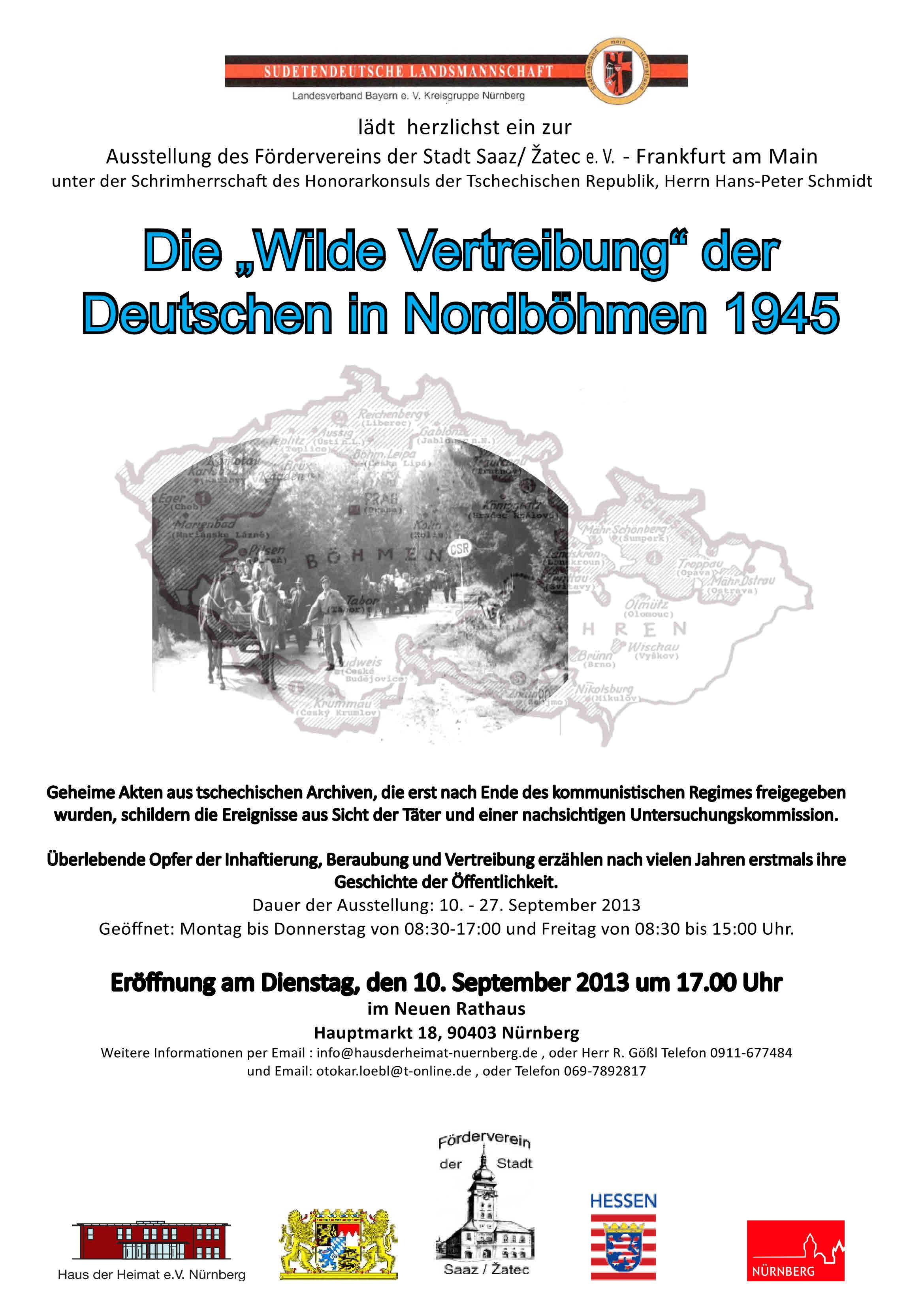 2013 Wilde Vertreibung Nuernberg Rathaus