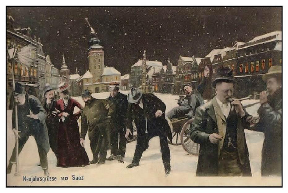 Silvester in Alt-Saaz