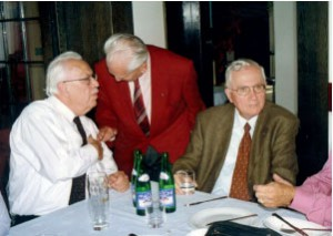 Peter Klepsch, Václav Venclík a Prof. Dr. Voitl