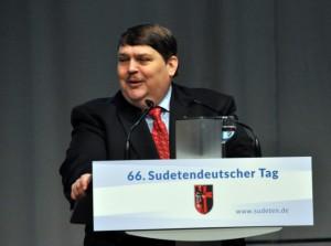 Bernd Posselt im Mai 2015 (Foto: CTK)