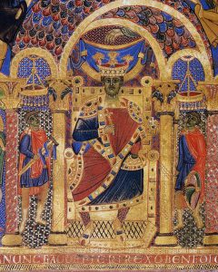 Kaiser Heinrich II. (1002-1013) aus einem Sakramentar in der Bayerischen Staatsbibliothek München