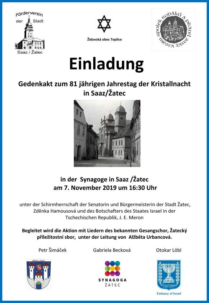 Einladung Synagoge