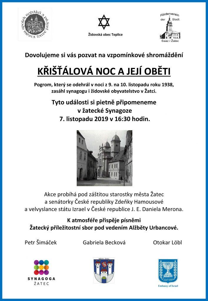 Pozvánka - Křištálová noc